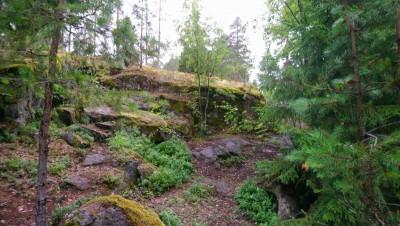 Rasti jyrkänteellä vm. 2012